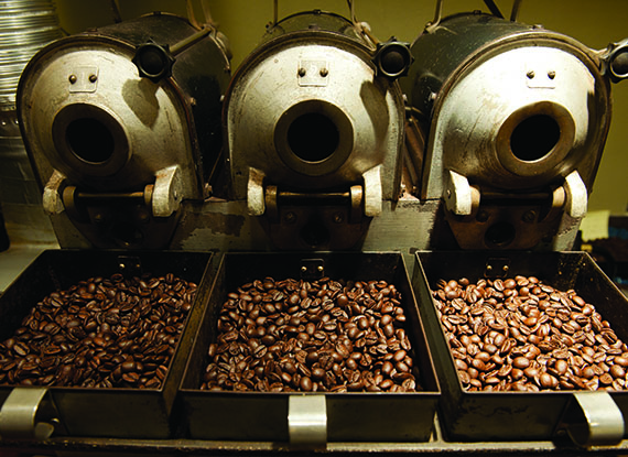 Dillanos Roasted Coffee Beans in Seattle Washington near The Woodmark