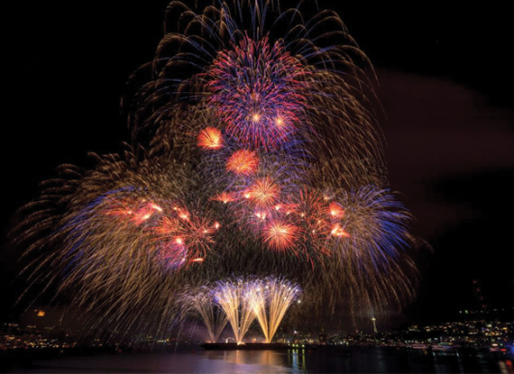 Seattle Seafair Festival Fourth of July - The Woodmark Hotel in Kirkland Washington