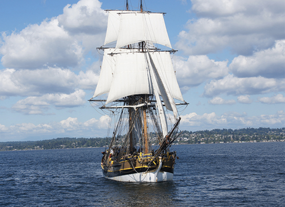 Tall Ships on Labor Day at The Woodmark Hotel in Kirkland Washington